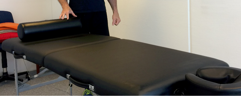 New massage table brings wellbeing